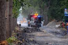Znaleziono niewybuch przy pracach nad ścieżką rowerową przy ulicy Krapkowickiej