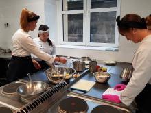 Praktyka uczniowska na bardzo wysokim poziomie dzięki pracowni gastronomicznej