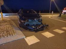 Kolejne zderzenie z udziałem motocyklisty w Lędzinach