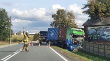 Wypadek na drodze krajowej Kluczbork-Gorzów Śląski