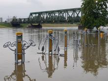 Stabilizuje się sytuacja hydrologiczna w Opolu. Przeszła fala wezbraniowa