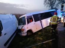 6 osób poszkodowanych w zderzeniu na DW 396