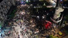 """Tłumy protestujących w centrum Opola. """"Solidarność nasza bronią"""""""