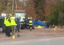 Strażak zginął w wypadku. Jechał na pomoc do zdarzenia drogowego