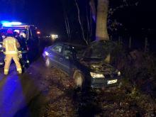 Zderzenie dwóch samochodów w Brynicy. Sprawca pijany