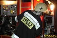 Strażacy do szpitala poszkodowanego przywieźli...autobusem