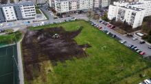 Spółdzielnia mieszkaniowa wyrównuje teren po cyrku Korona