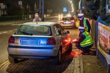 Kierująca Audi potrąciła kobietę na pasach w Kluczborku