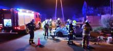 Niebezpieczne zdarzenie drogowe w Tłustomostach. Uczestnicy uciekli