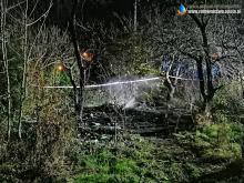 Wołczyn: Wyjechali do pożaru altanki, znaleźli zwęglone ciało