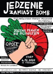 """Rusza akcja """"Jedzenie Zamiast Bomb"""". Społecznicy potrzebują wsparcia"""