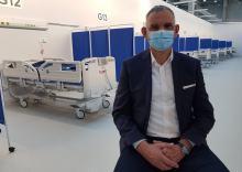 Dariusz Madera - pierwsi pacjenci w szpitalu tymczasowym pojawią się przed świętami