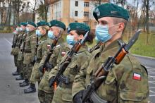 Elewi służby przygotowawczej złożyli przysięgę wojskową