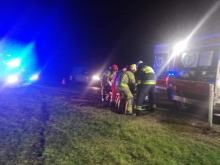 Jedna osoba ranna po dachowaniu w Buszycach