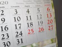 Za święto 26 grudnia możemy odebrać dzień wolny w pracy