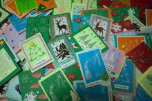 Osadzone wykonały 300 kartek świątecznych, które trafią do Domowego Hospicjum dla Dzieci