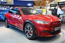 Opolski salon Forda zaprezentował elektrycznego Mustanga