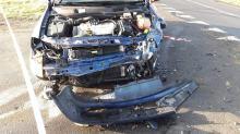 Groźny wypadek w Kamiennej. 22-letnia pasażerka trafiła do szpitala