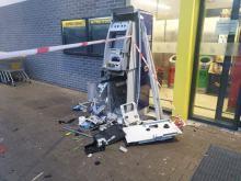Kolejny bankomat padł ofiarą wandali. Wysadzono bankomat w Skarbimierzu