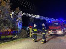 30 pożarów, 111 miejscowych zagrożeń. Opolska straż podsumowała okres świąteczny