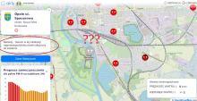 Tragiczna jakość powietrza na Bolko rano. Wieczorem - czujnik znika