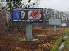 Baner porównujący aborcję do działań Hitlera stanął w Opolu