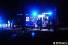Zderzenie trzech pojazdów na wiadukcie w Kluczborku