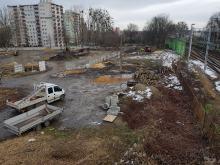 Widać pierwsze prace przy budowie centrum przesiadkowego Opole Zachód