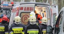 Policja szuka świadków wypadku drogowego między Sosnówką i Dąbrową na DK46
