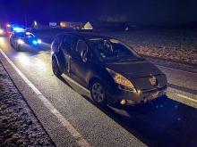 Pijany 22-latek kradzionym samochodem uciekał przed policją