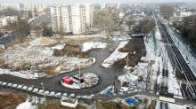 Centrum Przesiadkowe Opole Zachodnie - Rozpoczęto budowę kanalizacji