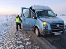 """""""Porzucony"""" bus na jezdni pod lupą Wojewódzkiego Inspektoratu Transportu Drogowego"""