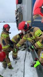 <i>(Fot. Komenda Powiatowa Państwowej Straży Pożarnej w Krapkowicach)</i>