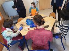 Zmodernizowano parter Domu Dziecka w Tarnowie Opolskim na potrzebę Warsztatów Terapii Zajęciowej