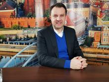 Arkadiusz Wiśniewski - w  kwietniu w Stegu Arenie mecz reprezentacji w piłce ręcznej