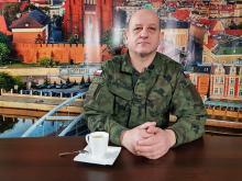 Mjr Wojciech Bakalarz - o dużym zainteresowaniu służbą wojskową i skróceniu formalności