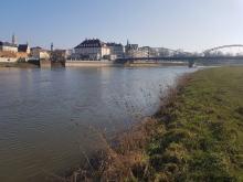 Na opolskich rzekach przekroczone są stany ostrzegawcze. Zagrożenia powodzią nie ma