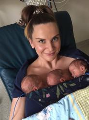 W szpitalu ginekologicznym w Opolu urodził się trojaczki. Anastazja, Karol oraz Jaśmina