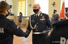 Nowi funkcjonariusze w szeregach Komendy Policji na Opolszczyźnie
