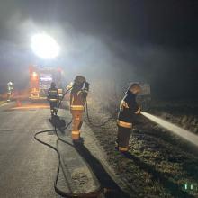 Strażacy w województwie opolskim zaczęli odnotowywać pożary suchych traw i nieużytków