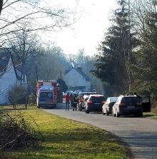 Strażacy z powiatu nyskiego wyciągnęli z rzeki ciało mężczyzny