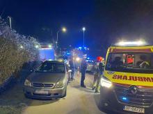 Pożar w garażach na Luboszyckiej. Jedna osoba nie żyje, dwie zostały ranne