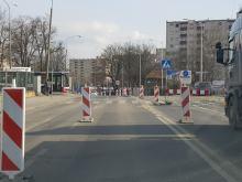 Zmieni się organizacja ruchu w rejonie skrzyżowania ulic Niemodlińskiej i Domańskiego