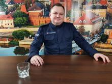 Asp. sztab. Piotr Chwastowski - w Opolskim Rekrucie pokazuję plusy służby w policji