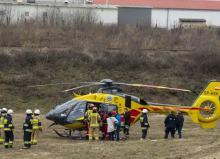 Wypadek na torze motocrossowym w Grodkowie