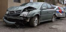 Nietrzeźwy kierowca z dalszej jazdy wyeliminował się sam