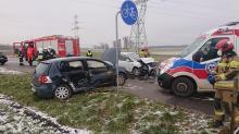 Wypadek w Zalesiu Śląskim. Wśród rannych dwójka dzieci