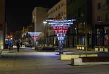 Ulica Krakowska w geście solidarności z Białorusią