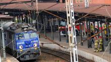 Pożar lokomotywy na stacji Opole Główne. Ewakuowano pasażerów