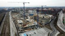 """""""Nowy ratusz"""" miasta pnie się w górę. Centrum Usług Publicznych powstanie do końca roku"""